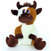 Мягкая игрушка Бычок молочный, размер 27см