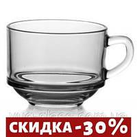 "Набор 12 Чашка стеклянная 625 мл ""Chefs 55303"" Pasabache."