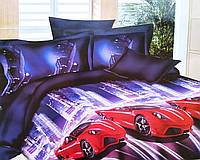 Комплект подросткового постельного полуторного белья, ранфорс, фото 1