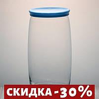 """Набор 6 Банка с пластиковой крышкой 1500 мл для хранения сыпучих продуктов """"Cesni 43023"""" Pasabache."""
