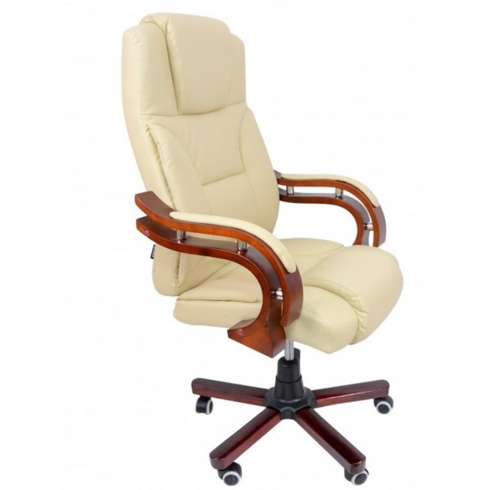 Кресло массажное Bonro Premier M-8005 бежевое