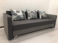 Прямой диван Кама Провентус Лаванда 210x85 см Серый