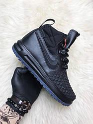 Жіночі кросівки Nike Lunar Force 1 Duckboot '17 Black (чорні)