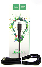 Кабель microUSB Hoco U31 Easy Charge 1,2 м черный
