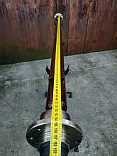 Балка АТВ-155(08Р) для прицепа под жигулевское колеса усиленная (толщина 6 мм)
