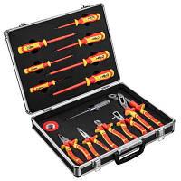 Набор инструментов Neo Tools для работы с электричеством, 1000 В, 13 шт. (01-234)