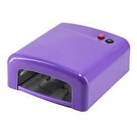 UV Лампа для гелевого наращивания 36W 818 (фиолетовая)