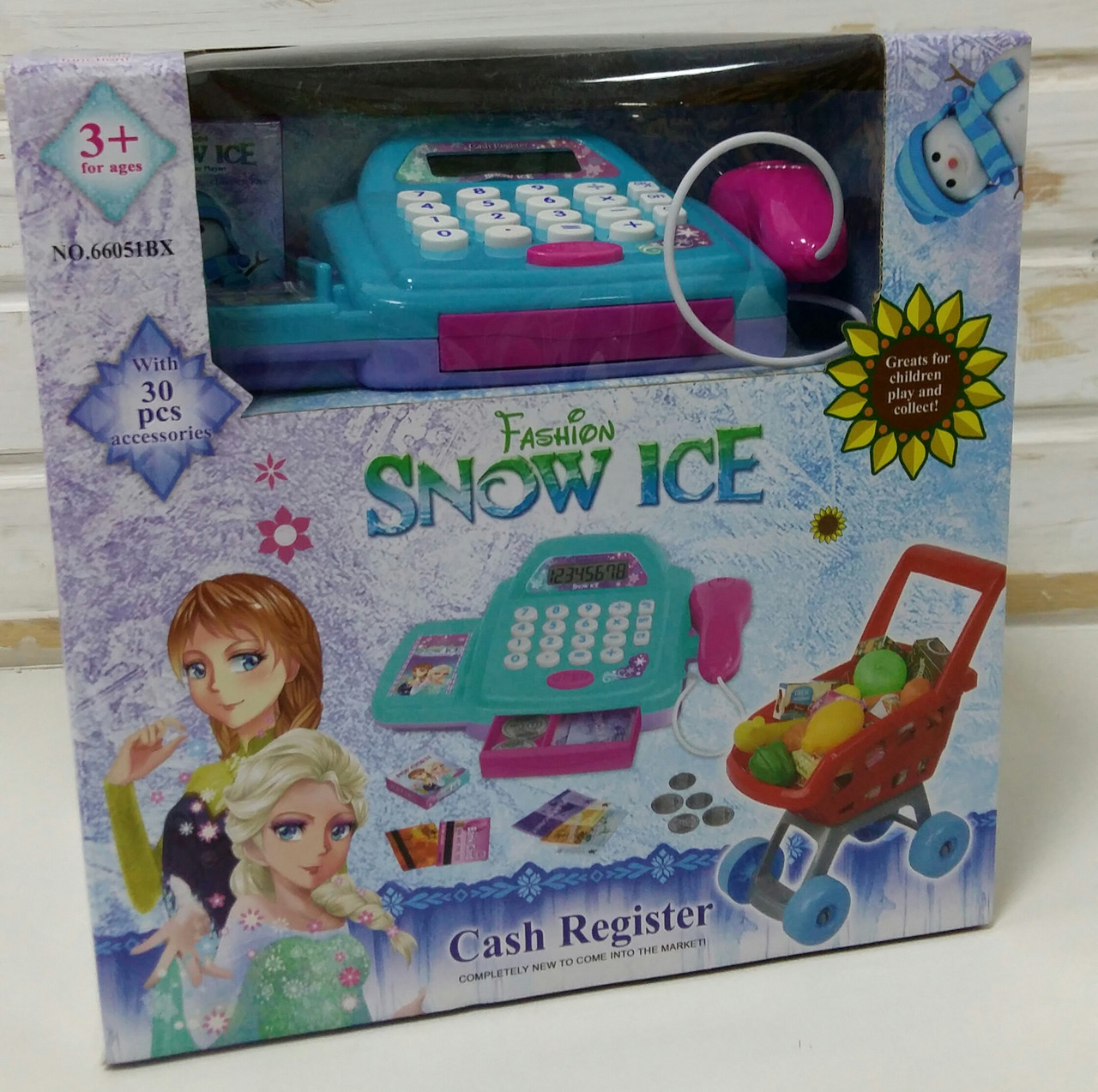 "Кассовый аппарат ""Snow Ice"" 66051 ВХ"