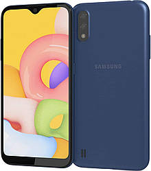 Samsung Galaxy A01 2020 A015F 2/16Gb Blue (SM-A015FZKDSEK)