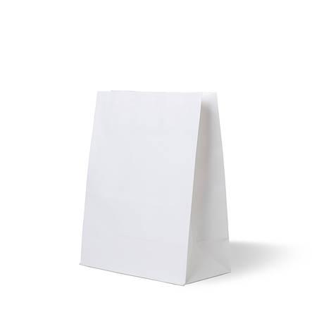 Бумажный пакет белый без ручек 150х80х240, плотность 80г/м², фото 2