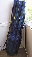 Чехол сумка для удилищ спиннингов снастей рыболовный полужесткий Feimа 2 секции 150 см