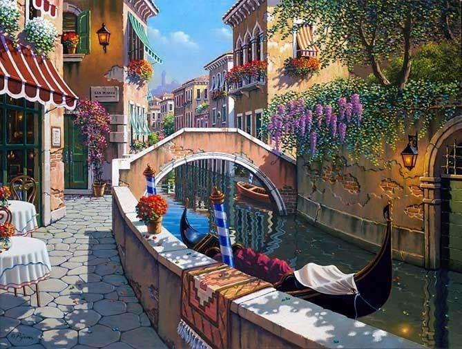 """Картина по номерам """"Прекрасная Венеция"""" тм Лавка Чудес 40 x 50 см (в коробке) (LC30033)"""