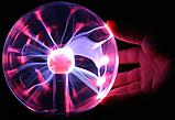 Плазменный шар - plasma Light 20 см | Плазменный шар Тесла | ночник | светильник, фото 4