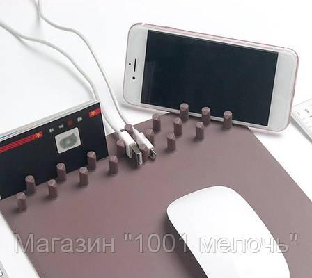 Беспроводная зарядка + коврик Mouse Pad, фото 2