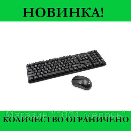 Беспроводная клавиатура и мышь TJ808 COMBO, фото 2
