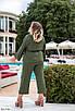 Женский костюм-тройка с майкой, брюками и жакетом, размеры 42-46, фото 6