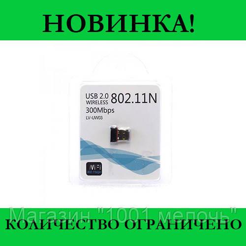 Адаптер USB WiFi LV-UW03 802.11N (300Mbps)