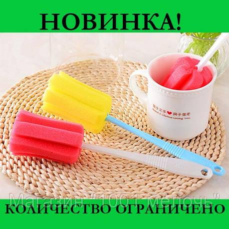 Губка с ручкой для мытья стаканов и кружек, фото 2