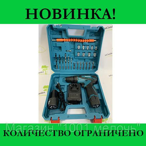 Шуруповерт Makita с набором  инструментов