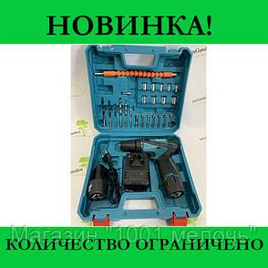Шуруповерт Makita с набором  инструментов, фото 2