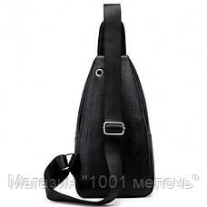 Мужская сумка Alligator BAG B (коричневый, чёрный), фото 3