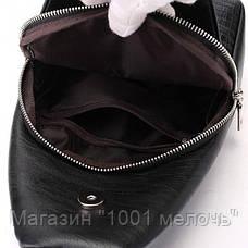 Мужская сумка Alligator BAG B (коричневый, чёрный), фото 2