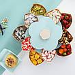 Вращающаяся тарелка-органайзер для закусок фруктов и сладкого двухъярусная, фото 4