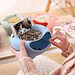 Миска для снэка, фруктов, орехов и телефона, фото 3
