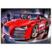 Автомобиль 9 вафельная картинка