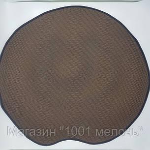 Коврик 3D Пончик круглый безворсовый 80 х 80 см, фото 2