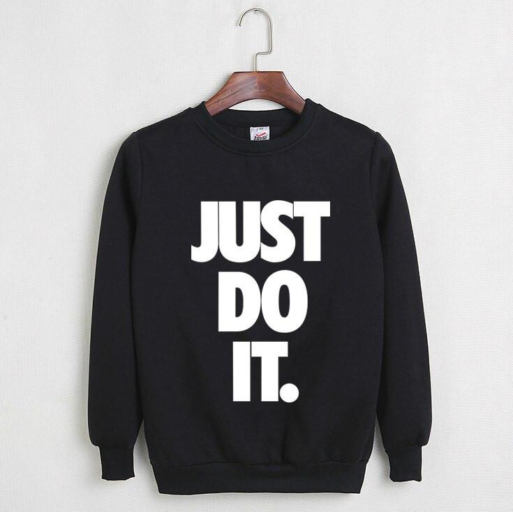 Свитшот черный Nike ( Найк ) Just Du It