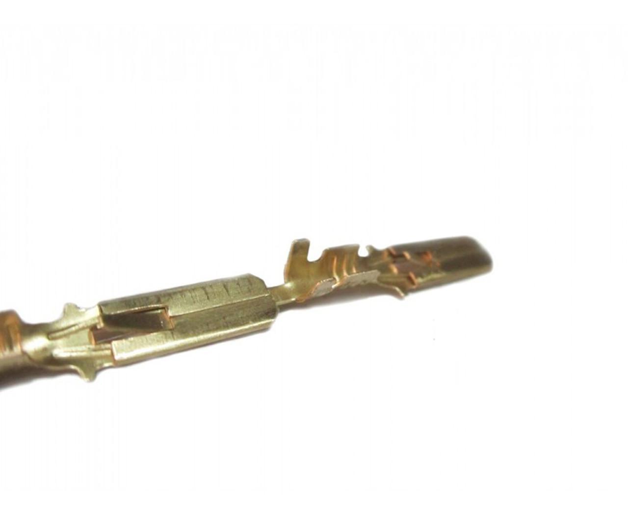 Клемма провода латунь (папа) 10 шт