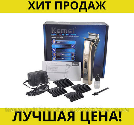 Машинка для стрижки Kemei KM 5017- Новинка, фото 2