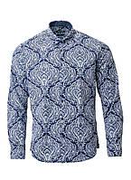Мужская рубашка синего цвета от Pierre Cardin