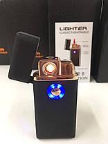 Зажигалка спиральная USB TH 705 2IN1 Газ + USB Charge!Хит цена, фото 2