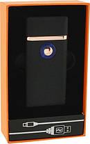 Зажигалка спиральная USB TH 705 2IN1 Газ + USB Charge!Хит цена, фото 3
