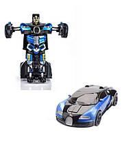 Машинка Трансформер Bugatti Robot Car Size 1:12 Синяя!Хит цена, фото 3