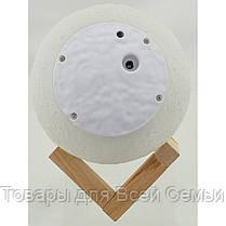 Настольный светильник Magic 3D Moon Light RGB Луна + пульт!Хит цена, фото 2