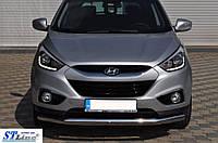 Передня дуга ST008 для Hyundai IX-35, 60 мм, нерж. Туреччина