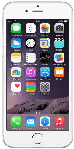 Смартфон Apple iPhone 6 64GB Silver Grade A Refurbished