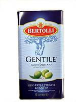 Олія оливкова Bertolli Gentile Olio Extra Vergine di Oliva 5 л