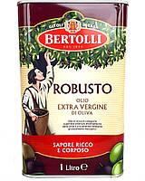 Олія оливкова Bertolli Robusto Olio Extra Vergine di Oliva 1 л