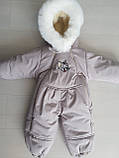 Детские зимние комбинезоны для девочек, фото 9