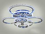 Светодиодная LED люстра с диммером и подсветкой, 125W, фото 3
