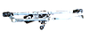 """Трапеция стеклоочистителя Авео Т-250 в сборе,механизм """"дворников"""" Авео. 96476577"""