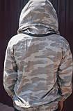 """Куртка бджоляра коттон """"Камуфляж"""" на блискавці р. 54, фото 2"""