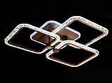 Світлодіодна люстра з діммером і підсвічуванням 65W, фото 3