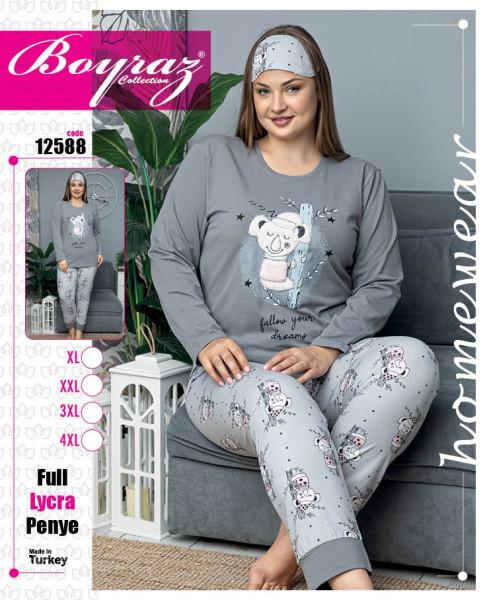 Пижама женская хлопок 12588 Boyraz