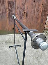 """Балка 140 см ТМ """"""""Зализо""""""""для прицепа под жигулевское колесо (∅ 48 мм, 1 т, 2101 шплинт)"""