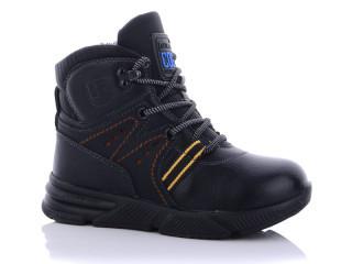 Ботинки детские Леопард-C2307-5-черные (раз.с 27 по 32)